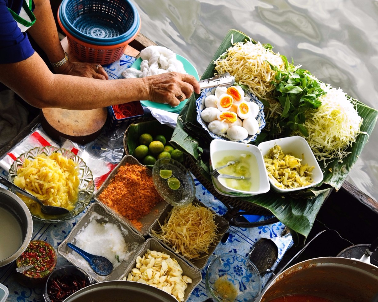 Breakfast in the Streets of Bangkok