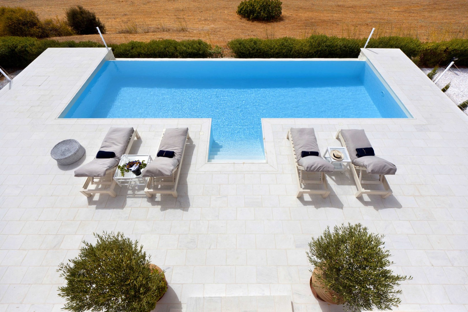 A Luxury Eco-Friendly Villa in Syros becomes our favorite hot spot on the island!