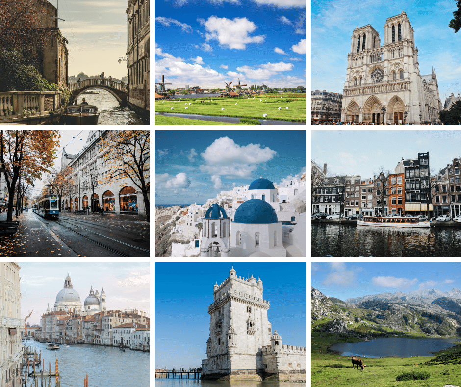The Top 7 Most Visited Places in Europe