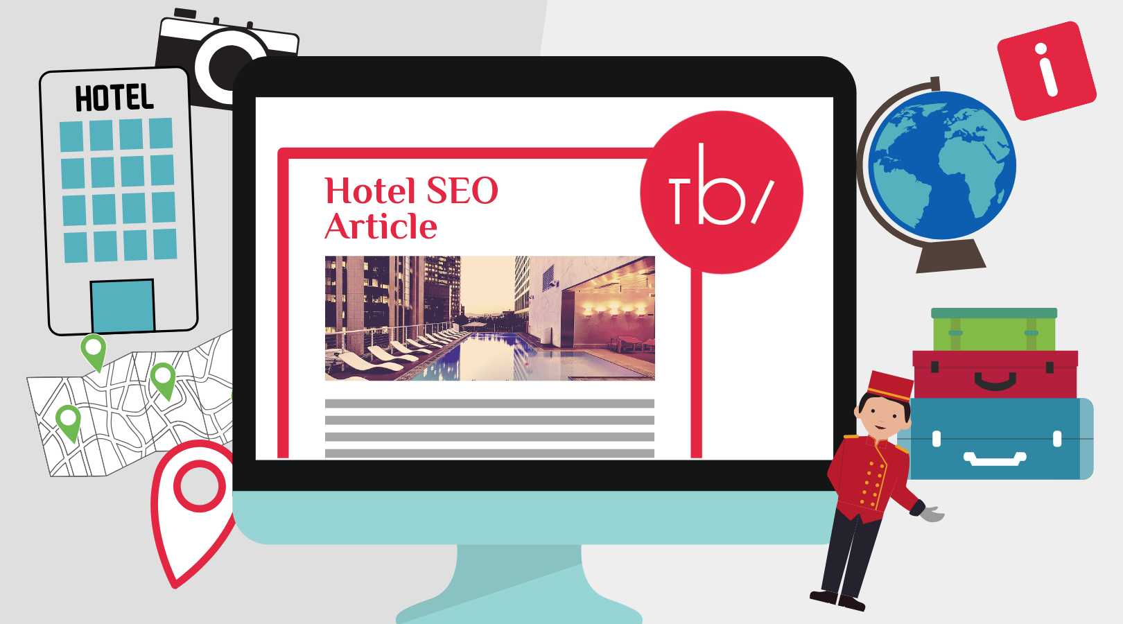 Hotel SEO Articles: Optimized Articles for your Hotel, with your Booking Engine connected