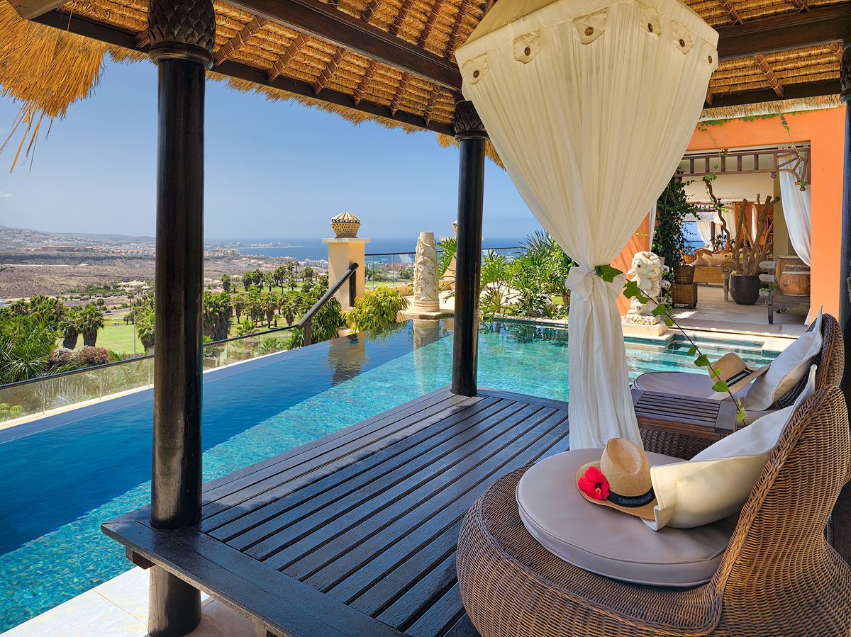 A romantic experience unfolds in Tenerife's best hotel for couples
