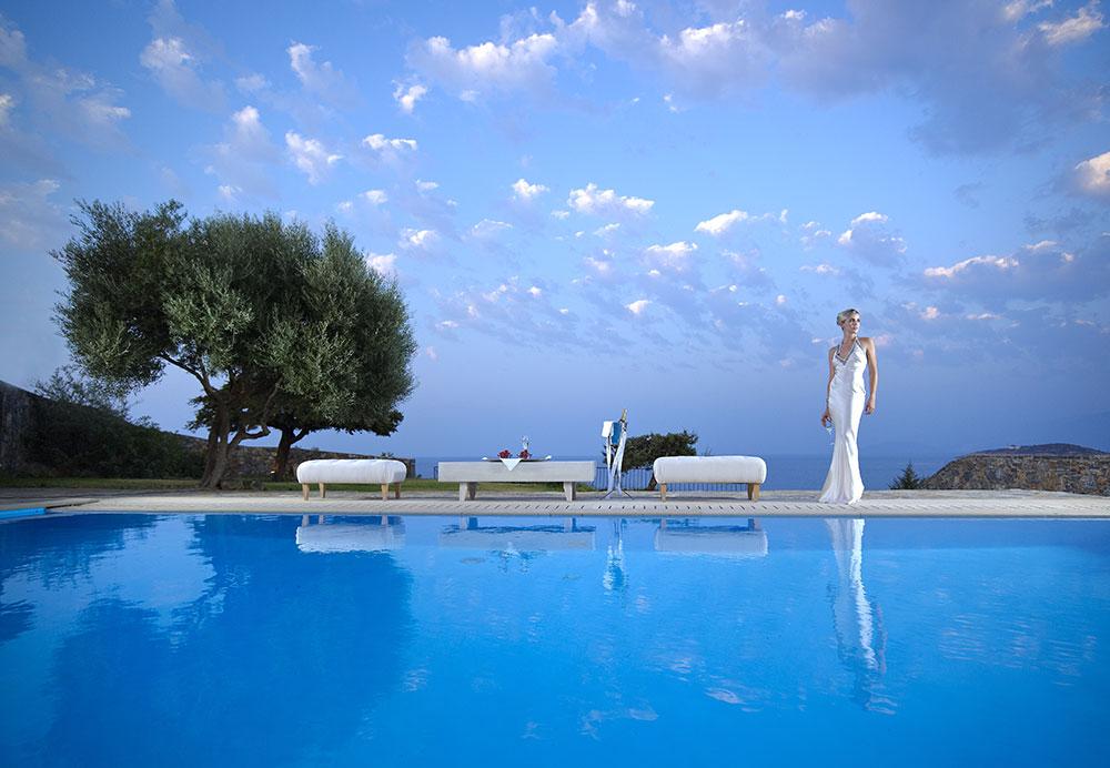 Romantic Holidays Colored in Total Blue, at St Nicolas Bay Resort Hotel & Villas!