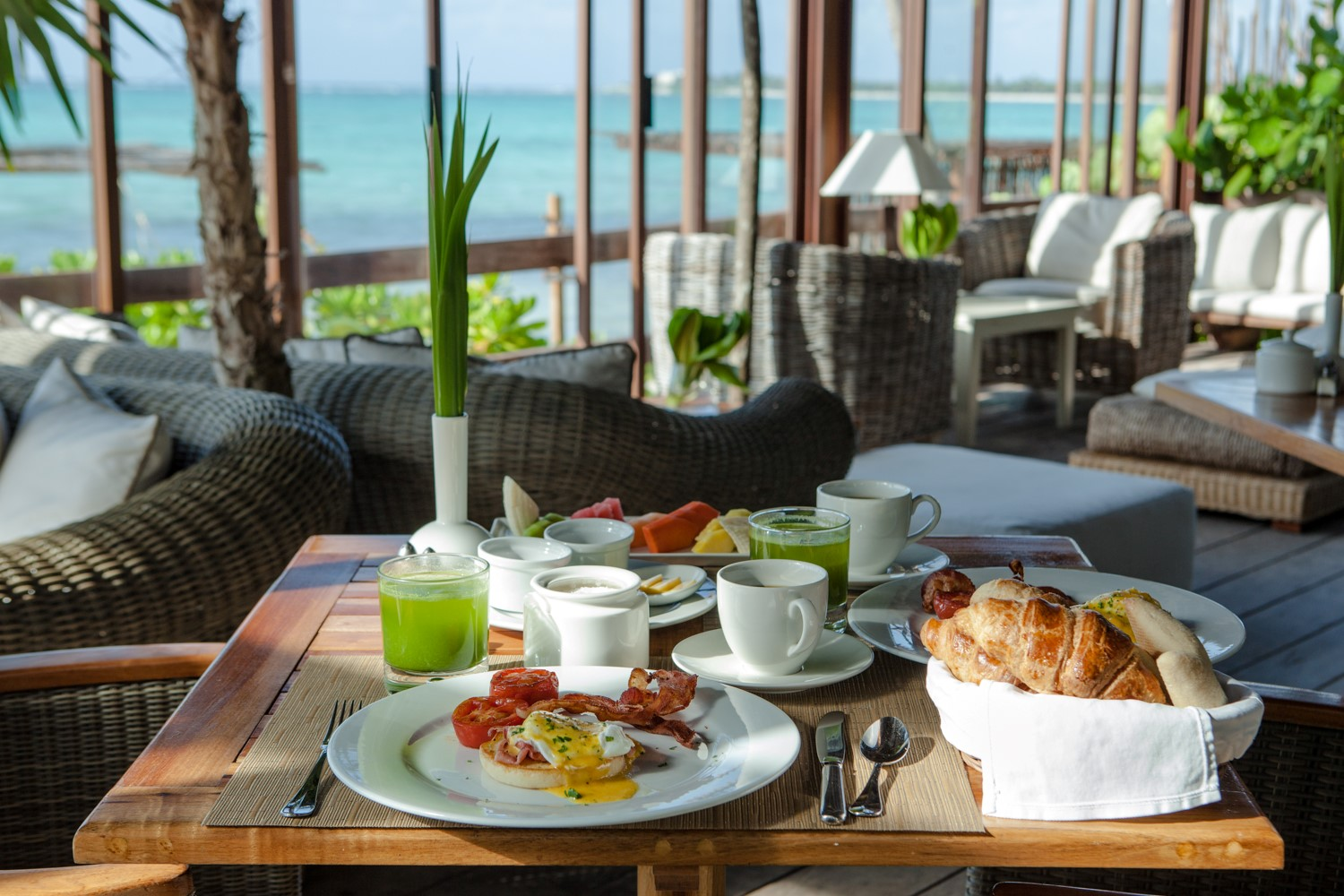 Discover the natural breakfast of a luxurious boutique hotel in Soliman Bay!