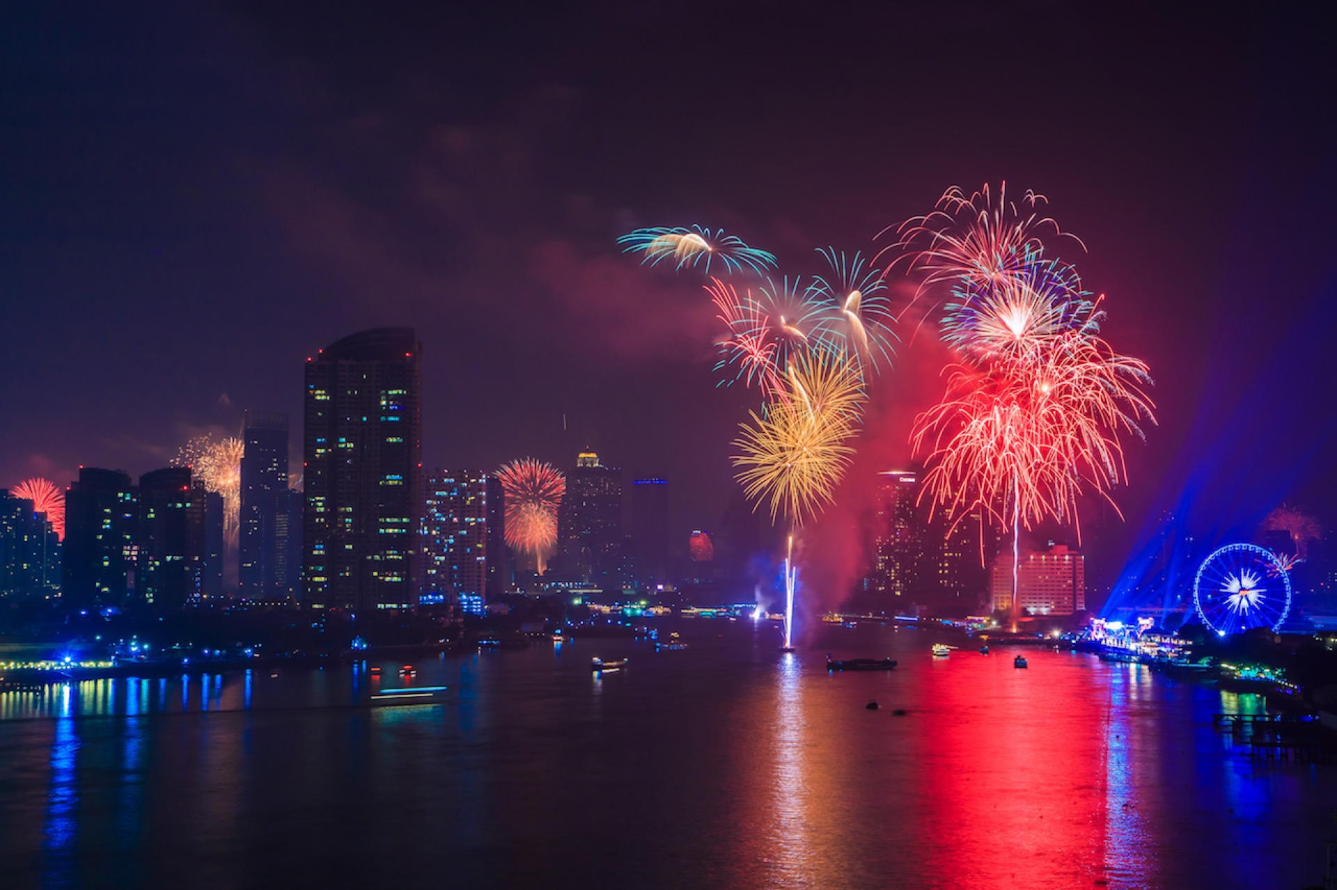 The Best Places to Spend your most exciting New Year's Eve in Bangkok!