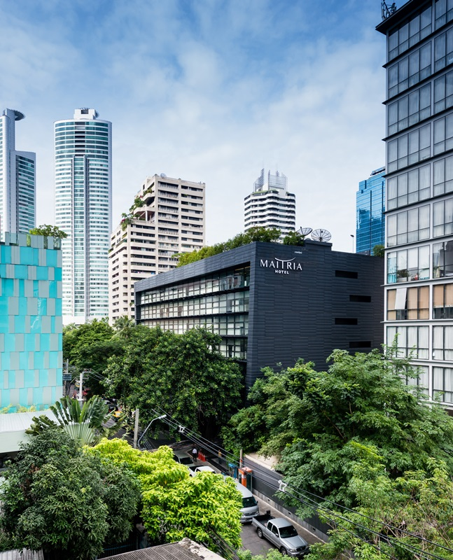 Find your private sanctuary in the midst of Bangkok's bustling centre