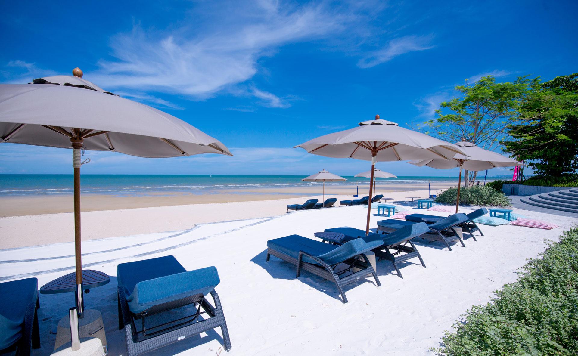 A Unique Hua Hin Beach Experience starting at a Luxury 5-Star Beachfront Hotel!