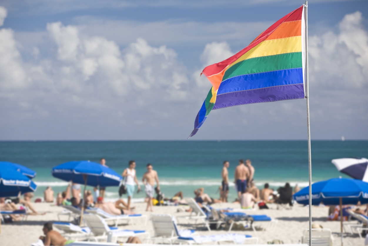 The Gay Beaches of Miami: A feast of Speedos