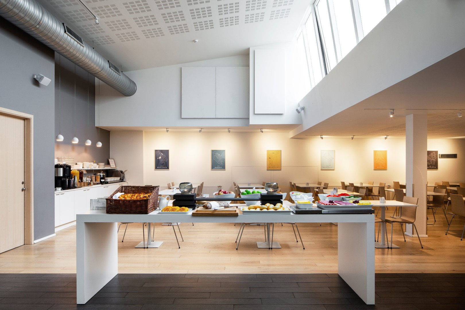 Stylish and Delicious; the minimal breakfast of a design hotel in Reykjavik!
