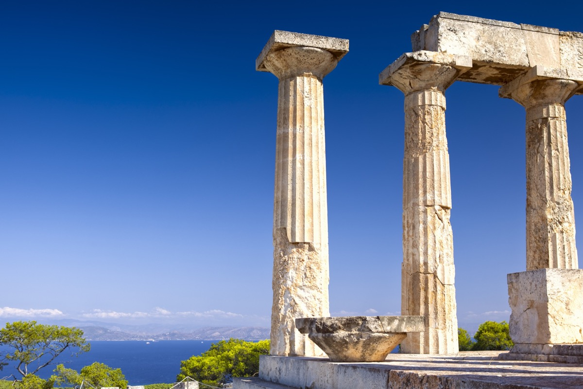 Aphaia temple on Aegina Island in Greece   Travel By Interest